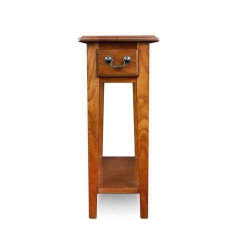 Amazon Com Leick Chair Side End Table Medium Oak Finish