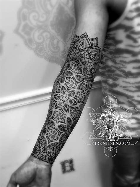 Kirk Nilsen   Black work tattoos (With images)   Geometry