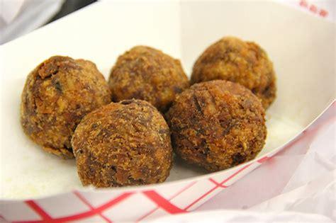 boudin balls a match made in heaven pork boudin balls honest cooking