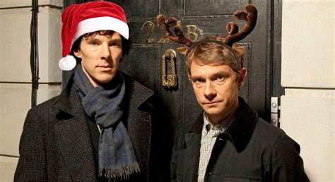 sherlock christmas holmes lovely gifs perfect guide holiday