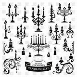 Candle Vector Holder Drawing Candles Getdrawings Clip sketch template