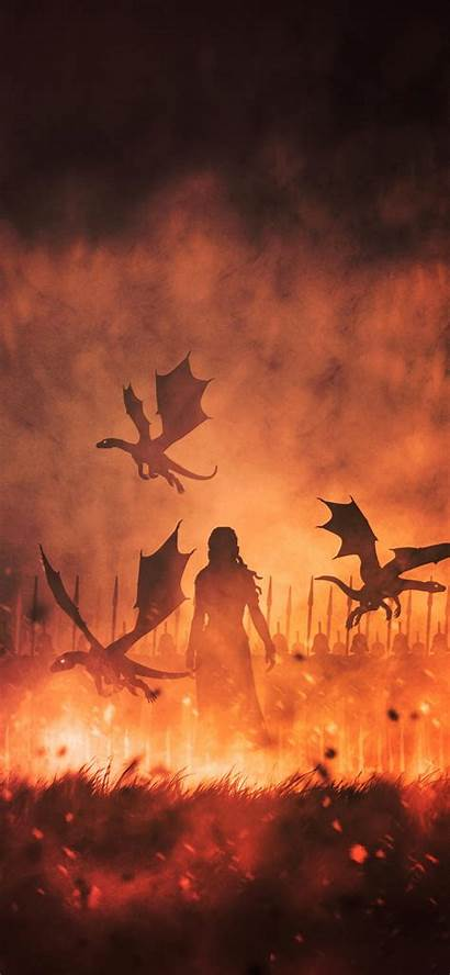 Thrones Iphone Wallpapers Dragons Daenerys Animated Phone