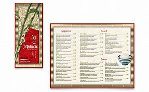 Microsoft Word Trifold Tri Fold Menu Templates Word Publisher