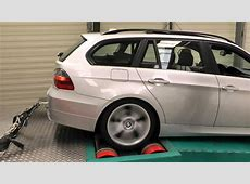 BMW 320d e91 Tuning Factory Dynorun Movie 2 of 3 YouTube