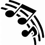 Svg Notes Icon Musical Icons Lines Pentagram