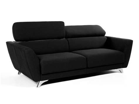 delamaison canapé canapé 3 places tissu tolga kaligrafik pas cher canapé