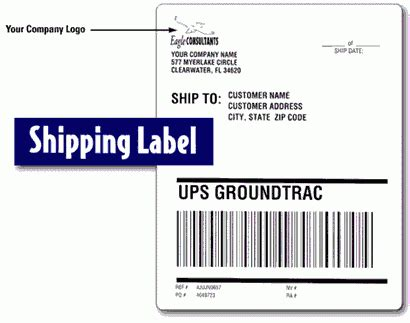 ups shipping label template how to prepare ups shipping label ups tracking united parcel service tracking