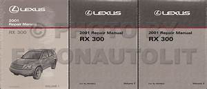 2001 Lexus Rx 300 Wiring Diagram Manual Original