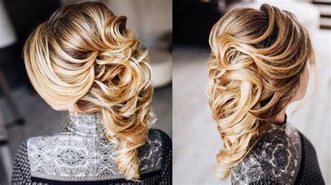 greek braid hairstyle tutorial easy wedding updo youtube