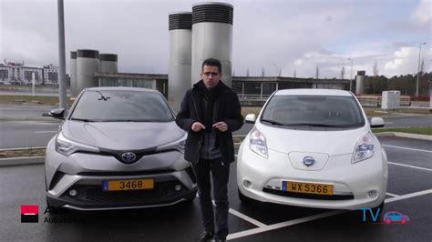 essai comparatif voiture hybride electrique toyota