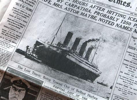 Titanic Resume En Francais by Titanic Londres R 233 Compense Un Fran 231 Ais 224 Titre Posthume Pour Quot Courage Quot Sur Le Paquebot