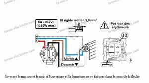 Branchement Volet Roulant électrique : electricit branchement volet roulant mesdemos ~ Melissatoandfro.com Idées de Décoration