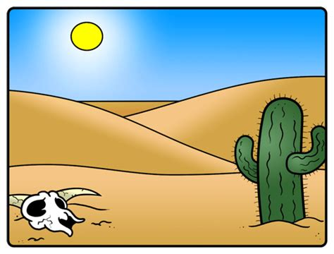 cartoon desert step  step drawing lesson