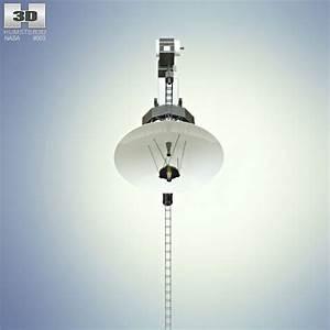 Voyager 1 3D model - Hum3D