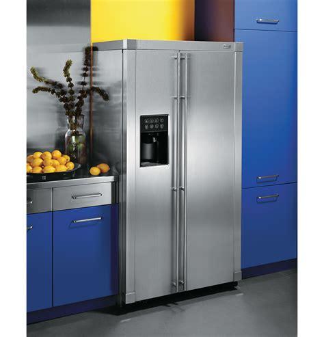 ge monogram  standing side  side refrigerator zfsbdrss ge appliances