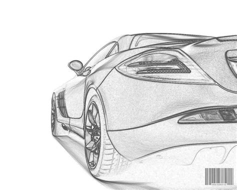 Try These Simple Car Drawings And Use The Outlines As A