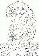 Coloring Naruto Shippuden Popular sketch template