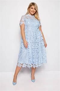 Bon Price Mode : chi chi robe bleu pasel claudia grande taille 44 54 ~ Eleganceandgraceweddings.com Haus und Dekorationen