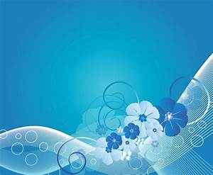 20+ Blue Flower Backgrounds | Wallpapers | FreeCreatives