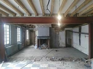 Ouverture Dans Un Mur Porteur : d molition mur porteur et pose d 39 upn ~ Melissatoandfro.com Idées de Décoration