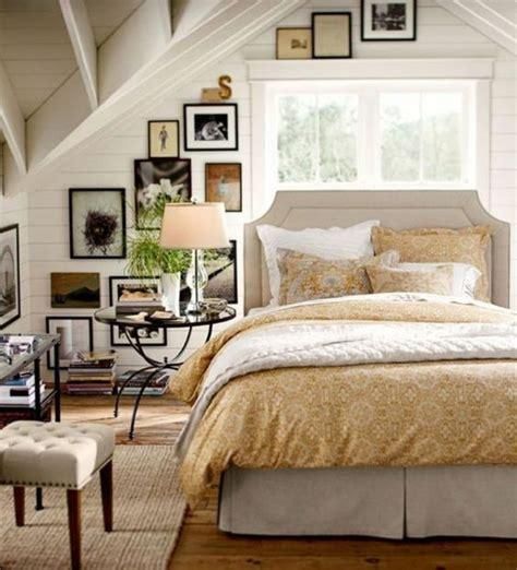 chambre blanche et beige 1001 idées déco de chambre sous pente cocoon