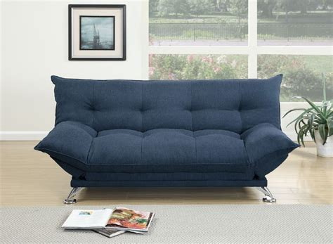 navy blue futon sofa bed navy blue fabric adjustable sofa bed futon with flip up