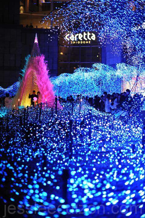 christmas illumination in tokyo the world is so