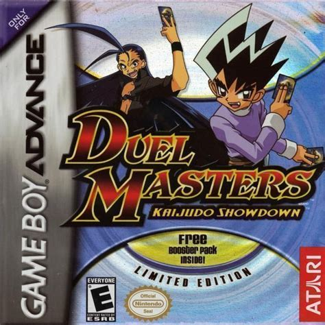duel masters kaijudo showdown gba games game advance gameboy gathering magic planeswalkers vs card emulator duels similar poster royalroms rom