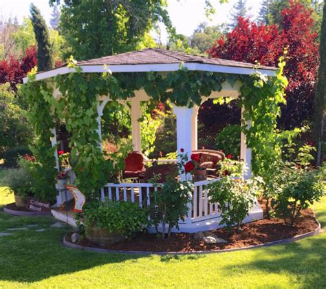 landscape gazebo 32 garden gazebos for creating your garden refuge