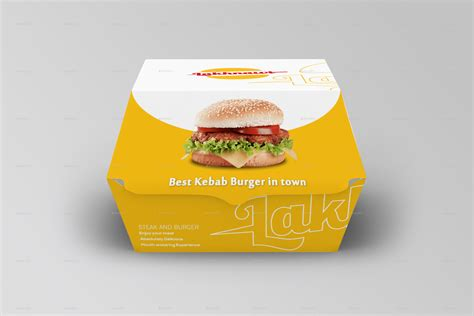Burger Box Mockups By Shaikerintu