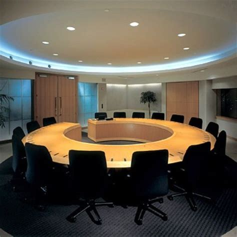 board room table custom  open boardroom table