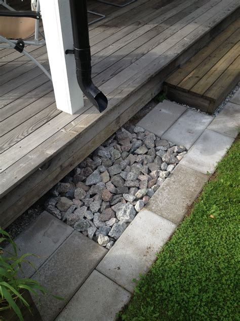 french drain  style  pinterest