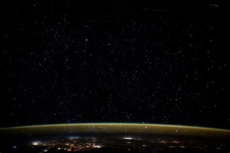 stars glitter   night sky  earths atmospheric