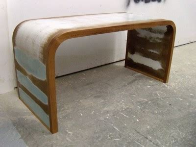 curved bench custom furniture  cabinetry  boise