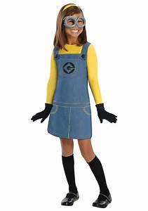 Minion Kostüm Baby : child girls minion costume ~ Frokenaadalensverden.com Haus und Dekorationen