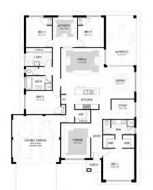 House Plans And Designs For Bedrooms by 4 Bedroom House Plans Home Designs Celebration Homes