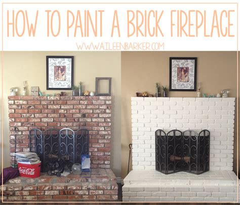 paint  brick fireplace brick fireplace  bricks