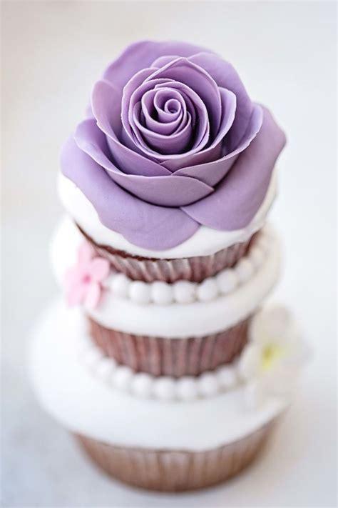 purple rose cupcake cupcakes gallery