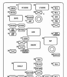 2003 Chevy Trailblazer Fuse Box Diagram