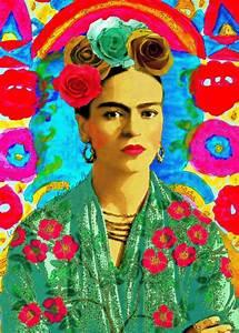Frida Kahlo Kunstwerk : die besten 25 frida kahlo bilder ideen auf pinterest frida kahlo mexikaner sind wie und ~ Markanthonyermac.com Haus und Dekorationen