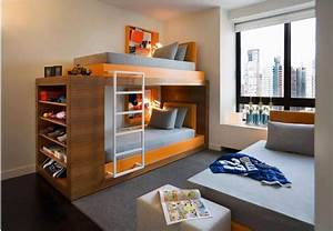 cool and modern children39s bunk beds kids and baby With double bunk beds ideas for modern look