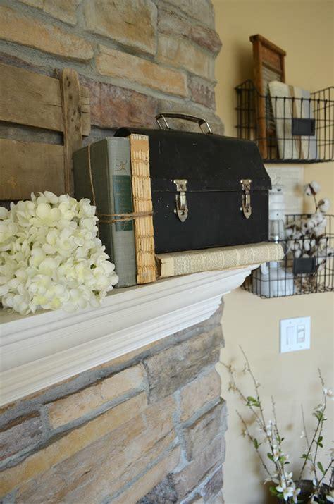 4 Tips For Decorating The Mantel  Little Vintage Nest