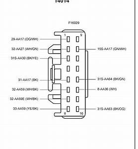 Ford Focus Central Locking Module Wiring Diagram  1