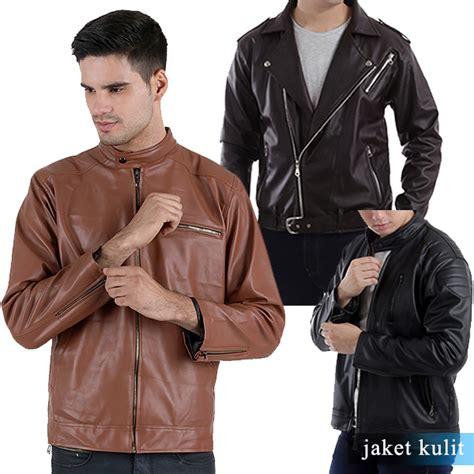 jaket kulit keren sesuai  model   trend
