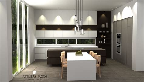 cuisine plan kitchen 3d renders exles ateliers jacob