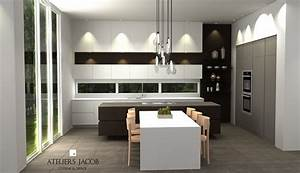 Plan De Cuisine 3d : votre cuisine en 3d ateliers jacob ~ Nature-et-papiers.com Idées de Décoration