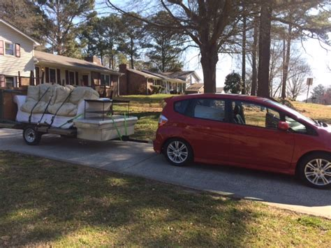 Fit Towing Capacity by Towing Small Trailer W 2010 Fit Unofficial Honda Fit Forums