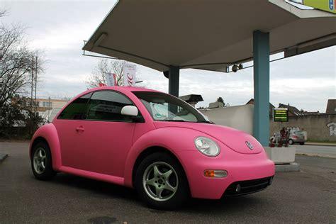 pink volkswagen beetle pink vw beetle a joyful cliche autoevolution
