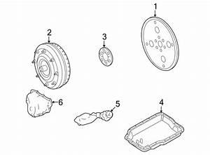 Mercury Montego Automatic Transmission Oil Pump Seal  3 0
