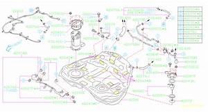 2010 Subaru Forester Hose Pressure Control Valve  Hose Pcv